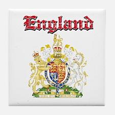 England Coat of arms Tile Coaster