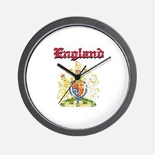 England Coat of arms Wall Clock