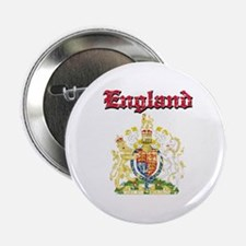 "England Coat of arms 2.25"" Button"