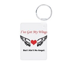 Got My Wings But No Angel Keychains