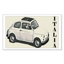 Cinquecento Rectangle Decal