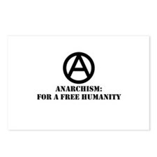 For A Free Humanity Postcards (Package of 8)