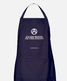 For A Free Humanity Apron (dark)