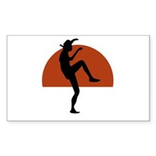 Larusso Kick Decal