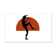 Larusso Kick Wall Decal