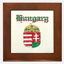 Hungary Coat of arms Framed Tile