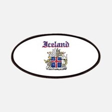 Iceland Coat of arms Patches