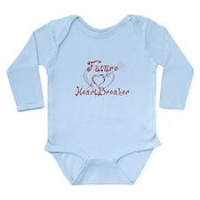 Future Heartbreaker Long Sleeve Infant Bodysuit