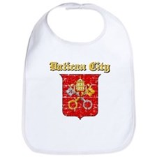 Vatican City Coat of arms Bib