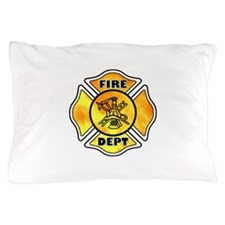 Fire Dept Maltese Cross Pillow Case