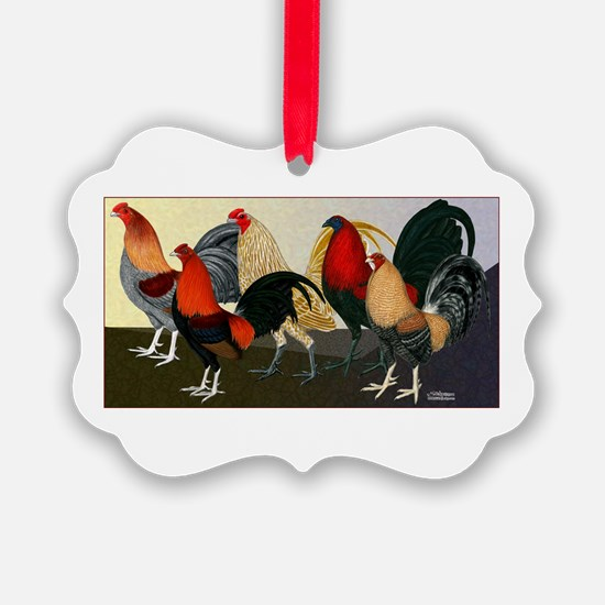 Rooster Dream Team Ornament
