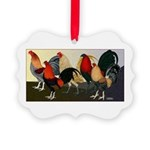 Rooster Dream Team Picture Ornament