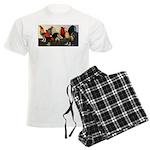 Rooster Dream Team Men's Light Pajamas