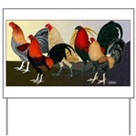 Rooster Dream Team Yard Sign