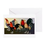 Rooster Dream Team Greeting Card