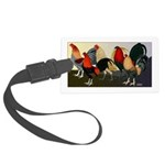 Rooster Dream Team Large Luggage Tag