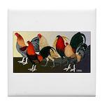 Rooster Dream Team Tile Coaster