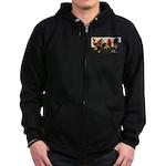 Rooster Dream Team Zip Hoodie (dark)