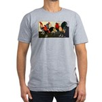 Rooster Dream Team Men's Fitted T-Shirt (dark)