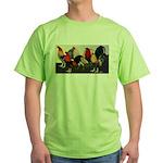 Rooster Dream Team Green T-Shirt