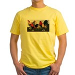 Rooster Dream Team Yellow T-Shirt