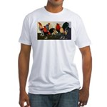 Rooster Dream Team Fitted T-Shirt