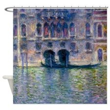 Claude Monet Palazzo Da Mula Shower Curtain