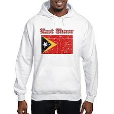 East Timor Flag Designs Hoodie