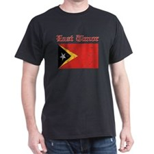 East Timor Flag Designs T-Shirt