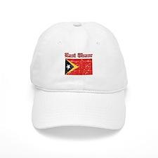 East Timor Flag Designs Baseball Cap