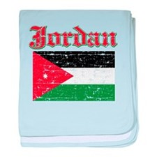 Jordan Flag Designs baby blanket