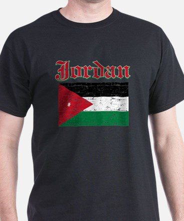 Jordan Flag Designs T-Shirt