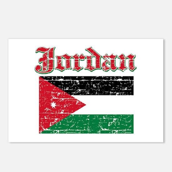 Jordan Flag Designs Postcards (Package of 8)
