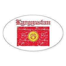 Kyrgyzstan Flag Designs Decal