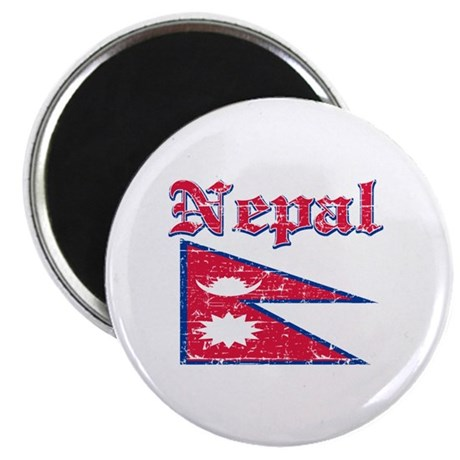Nepal Flag Designs Magnet