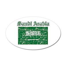 Saudi Arabia Flag Designs Wall Decal