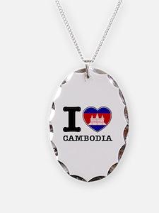 I heart Cambodia Necklace