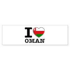 I heart Oman Bumper Sticker