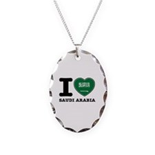I heart Saudi Arabia Necklace