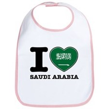 I heart Saudi Arabia Bib