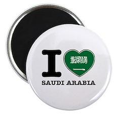 I heart Saudi Arabia Magnet