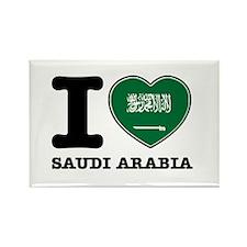 I heart Saudi Arabia Rectangle Magnet
