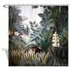 Henri Rousseau Rain Forest Shower Curtain