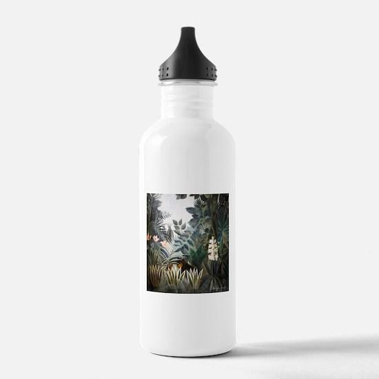 Henri Rousseau Rain Forest Water Bottle