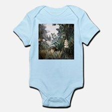 Henri Rousseau Rain Forest Infant Bodysuit