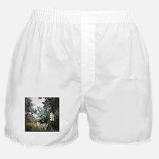 Henri Rousseau Rain Forest Boxer Shorts