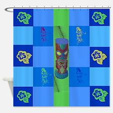 Tiki Shower Curtain