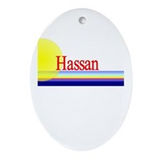 Hassan Oval Ornament