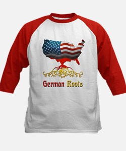 American German Roots Kids Baseball Jersey
