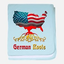 American German Roots baby blanket